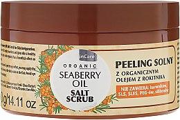 Парфюмерия и Козметика Солен скраб за тяло - GlySkinCare Organic Seaberry Oil Salt Scrub