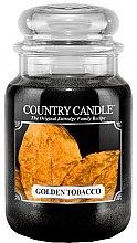 Парфюми, Парфюмерия, козметика Ароматна свещ в бурканче - Country Candle Golden Tobacco