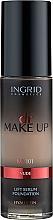 Парфюмерия и Козметика Фон дьо тен - Ingrid Cosmetics Lift Serum Foundation SPF8