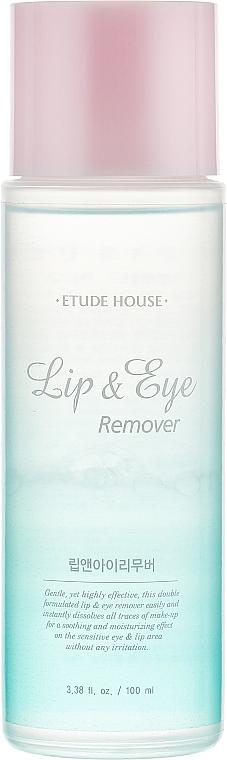 Лосион за премахване на грим - Etude House Lip & Eye Remover
