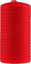Парфюми, Парфюмерия, козметика Декоративна свещ, червена, 7х10см - Artman Candle Andalo