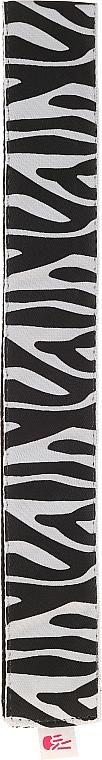 Лента за глава, черно-бела - Ivybands Zebra Hair Band — снимка N1