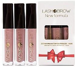 Парфюми, Парфюмерия, козметика Комплект червила - Lash Brow Mini Lipstick Set Nude (lipstick/3x3ml)