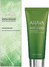 Парфюмерия и Козметика Минерален почистващ гел за лице - Ahava Mineral Radiance Cleansing Gel