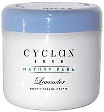 Парфюмерия и Козметика Масажен крем с лавандула - Cyclax Nature Pure Lavender Massage Cream