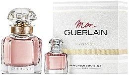 Парфюми, Парфюмерия, козметика Guerlain Mon Guerlain - Комплект парфюмна вода (edp/30ml + edp/5ml)