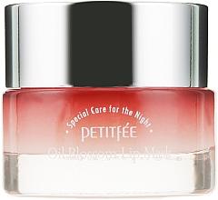 Парфюмерия и Козметика Нощна маска за устни с масло от камелия и витамин Е - Petitfee&Koelf Oil Blossom Lip Mask