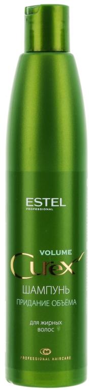 Шампоан за обем, за мазна коса - Estel Professional Curex Volume Shampoo for Oily Hair
