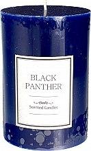Парфюмерия и Козметика Ароматна свещ, синя - Artman Black Panther Candle