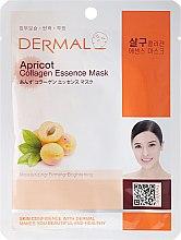 Парфюми, Парфюмерия, козметика Маска за лице с колаген и екстракт от кайсия - Dermal Apricot Collagen Essence Mask