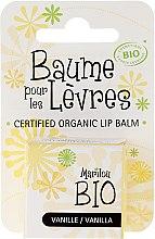 """Парфюмерия и Козметика Балсам за устни """"Ванилия"""" - Marilou Bio Certified Organic Lip Balm"""