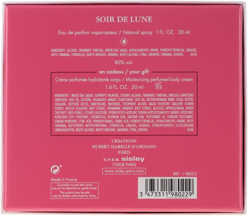 Sisley Soir de Lune - Комплект (edp 30ml + 50 b.cr) — снимка N4