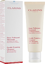 Деликатна почистваща пяна за лице - Clarins Gentle Foaming Cleanser with Shea Butter — снимка N1