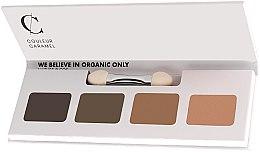 Парфюмерия и Козметика Палитра сенки за очи - Couleur Caramel Bio Sublime Eye Palette