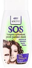 Парфюмерия и Козметика Шампоан против косопад за мъже и жени - Bione Cosmetics SOS Shampoo with Anti Hair Loss Ingredients
