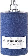 Парфюмерия и Козметика Ungaro L'Homme - Тоалетна вода (тестер без капачка)