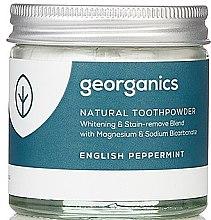 Парфюми, Парфюмерия, козметика Натурален прах за зъби - Georganics English Peppermint Natural Toothpowder