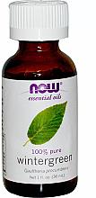 Парфюмерия и Козметика Етерично масло от гаултерия - Now Foods Essential Oils 100% Pure Wintergreen