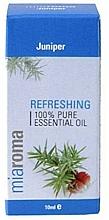 """Парфюмерия и Козметика Етерично масло """"Хвойна"""" - Holland & Barrett Miaroma Juniper Pure Essential Oil"""
