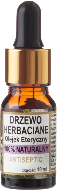 "Натурално масло ""Чаено дърво"" - Biomika Tea Tree Oil"