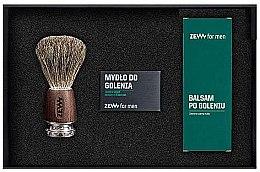 Комплект за мъже - Zew For Men Shaving Kit (сапун/85ml + афтър. балсам/80ml + четка/1бр.) — снимка N2