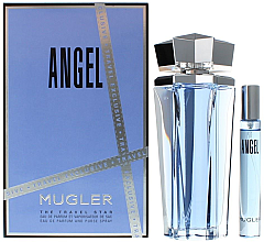 Парфюми, Парфюмерия, козметика Thierry Mugler Angel - Комплект парфюмна вода (edp/100ml + edp/7.5ml)