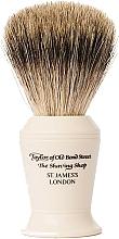 Парфюмерия и Козметика Четка за бръснене, P376 - Taylor of Old Bond Street Shaving Brush Pure Badger size L
