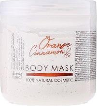 """Парфюми, Парфюмерия, козметика Маска за лице и тяло """"Портокал и канела"""" - Hristina Cosmetics Sezmar Professional Body Mask Orange Cinnamon"""