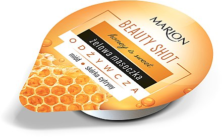 Маска за лице - Marion Beauty Shot Haney Is Sweet Gel Mask