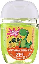 Парфюмерия и Козметика Антибактериален гел за ръце - Chlapu Chlap Antibacterial Hand Gel Pineapple Party