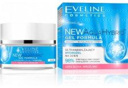 Парфюми, Парфюмерия, козметика Ултрахидратиращ хидрогел за суха и чувствителна кожа - Eveline Cosmetics Aqua Hybrid Gel