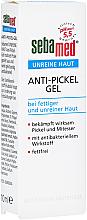 Парфюмерия и Козметика Гел против акне - Sebamed Unreine Haut Anti-Pickel Gel