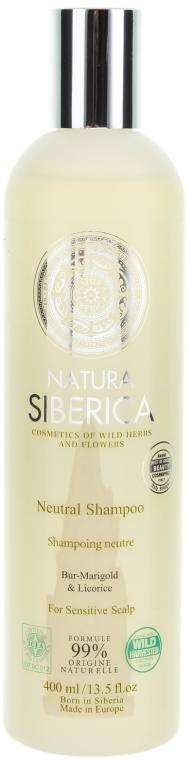 """Шампоан за коса при чувствителен скалп """"Неутрален"""" - Natura Siberica — снимка N1"""