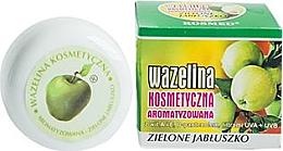 Парфюмерия и Козметика Вазелин за устни с аромат на зелена ябълка - Kosmed Flavored Jelly Green Apple