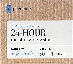 Парфюми, Парфюмерия, козметика Овлажняващ крем с 24-часово действие - Phenome 24 Hour Moisturizing System Cream