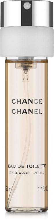 Chanel Chance - Тоалетна вода ( 3 бр. пълнители) — снимка N3
