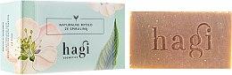 Парфюмерия и Козметика Натурален сапун с екстракт от лимонова трева и спирулина - Hagi Soap