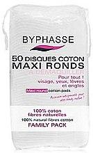Парфюми, Парфюмерия, козметика Памучни тампони за премахване на грим - Byphasse Maxi Round Cotton Pads