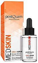 Парфюмерия и Козметика Серум за лице - PostQuam Med Skin Biological Serum Vita-C