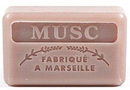 Парфюмерия и Козметика Марсилски сапун с мускус - Foufour Savonnette Marseillaise Musc