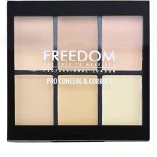 Парфюми, Парфюмерия, козметика Палитра коректори за лице - Freedom Makeup London Conceal & Correct Palette