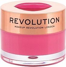 """Парфюмерия и Козметика Балсам-маска за устни """"Диня"""" - Makeup Revolution Kiss Lip Balm Watermelon Heaven"""