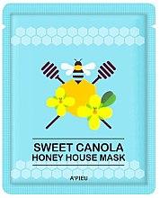 Парфюмерия и Козметика Маска за лице с фолио покритие - A'pieu Sweet Canola Honey House Mask