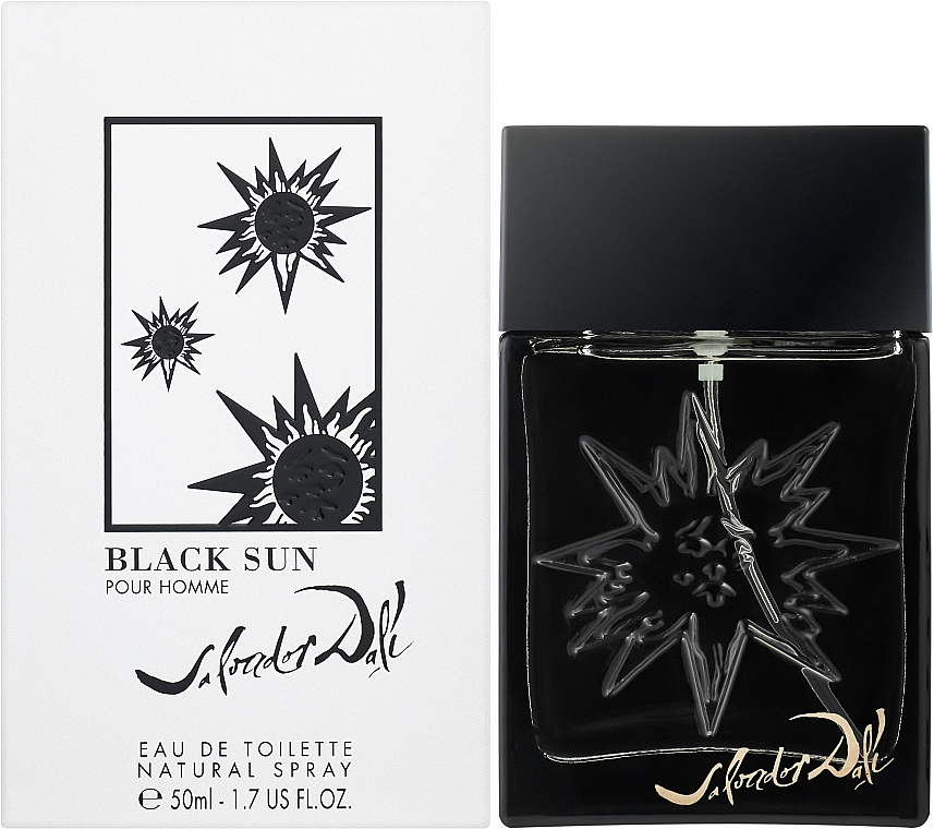 Salvador Dali Black Sun - Тоалетна вода — снимка N2