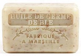 Парфюмерия и Козметика Марсилски сапун с масло от пшеничен зародиш - Foufour Savonnette Marseillaise Huile de Germe de Ble