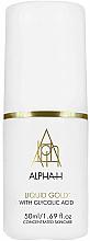 Парфюми, Парфюмерия, козметика Серум за лице с хиалуронова киселина - Alpha-H Liquid Gold Face Firming & Brightening Serum