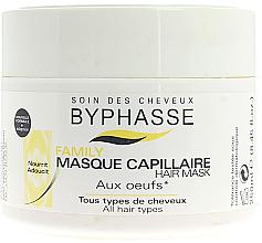 Парфюмерия и Козметика Маска с яйчен жълтък за всеки тип коса - Byphasse Family Multivitamin Complexe Mask