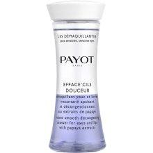 Парфюмерия и Козметика Двуфазен почистващ лосион за очи и устни с екстракт от папая - Payot Les Demaquillantes Efface Cils Douceur Instant Smooth Decongesting Cleanser