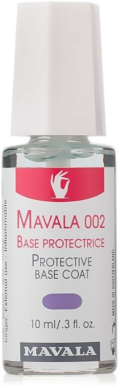 Защитна основа за нокти Мавала 002 - Mavala Double Action Treatment Base — снимка N1