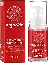Парфюмерия и Козметика Серум за коса с арган - Stapiz Argan'de Moist & Care Serum